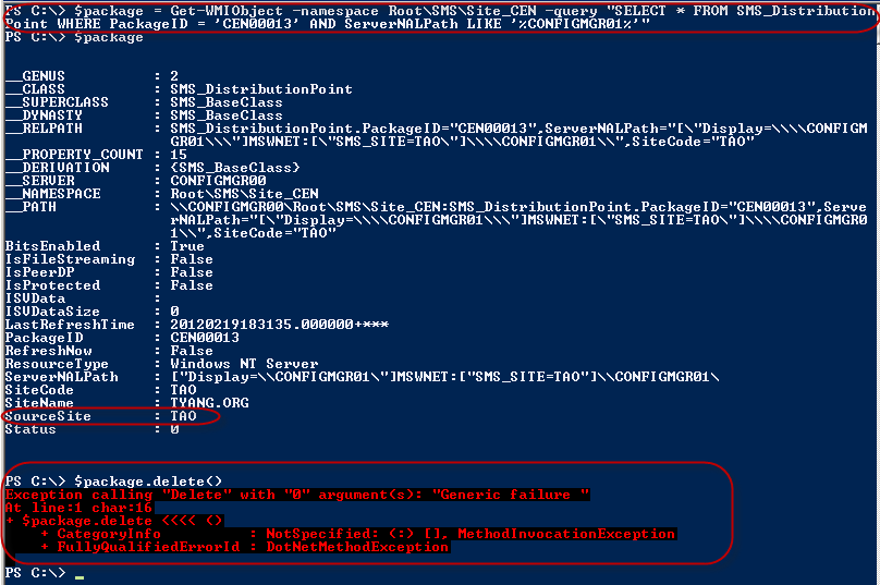 PowerShell Script: Remove All Packages From A SCCM