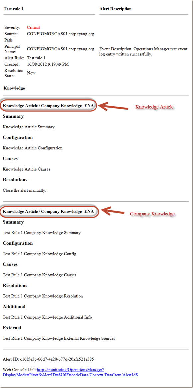 SCOM Enhanced Email Notification Script Version 2 | Managing