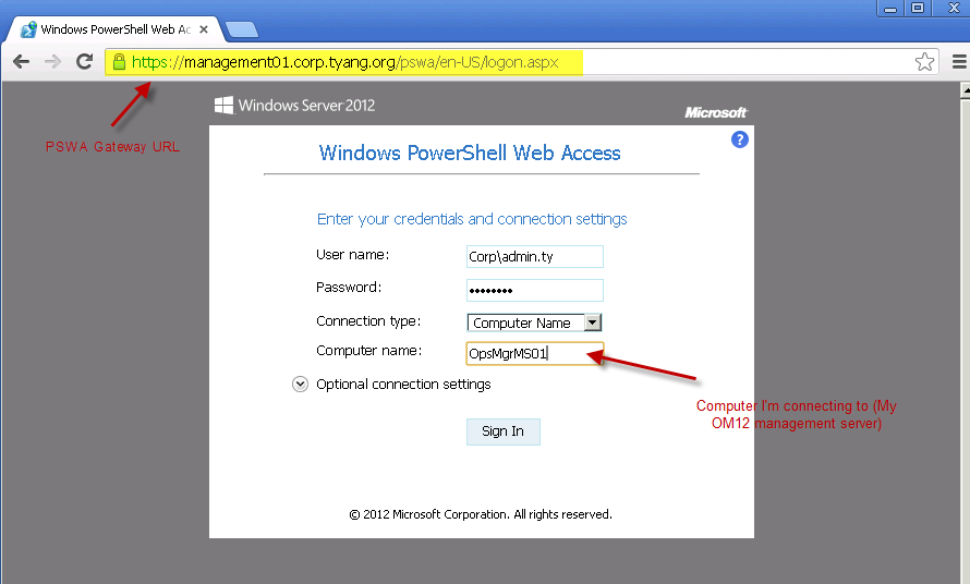 My First Impression on PowerShell Web Access | Managing Cloud and