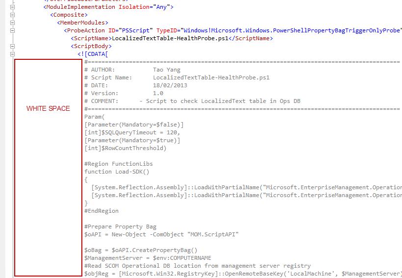 PowerShell Script failed to run