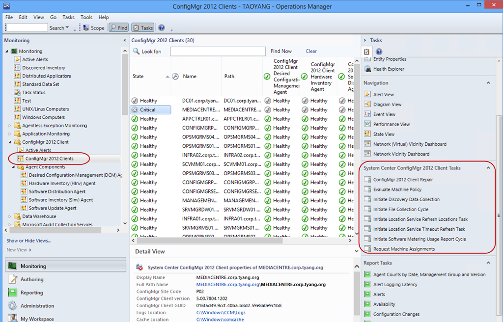 Management Pack for ConfigMgr 2012 Clients – Testers Wanted