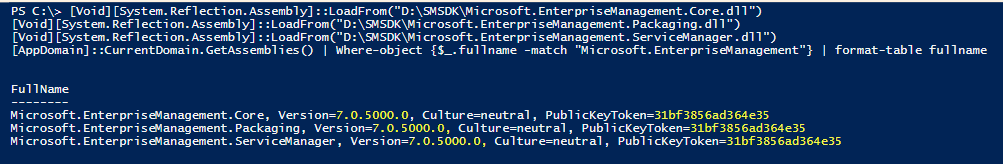 Writing PowerShell Modules That Interact With Various SDK