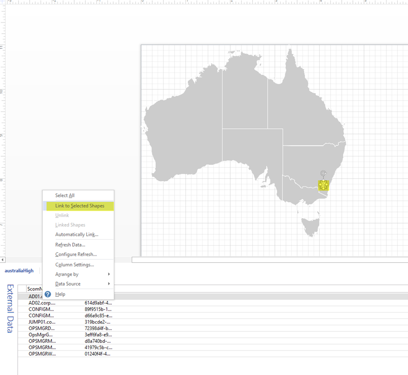 World and country maps for squared up visio dashboard managing image gumiabroncs Image collections