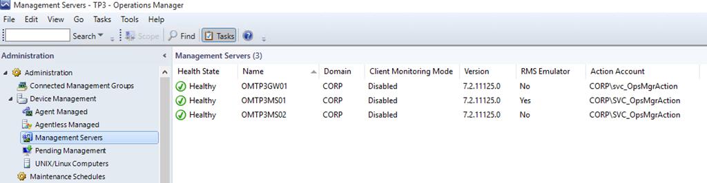 Deploying OpsMgr 2016 TP3 with Minimum Windows Server GUI