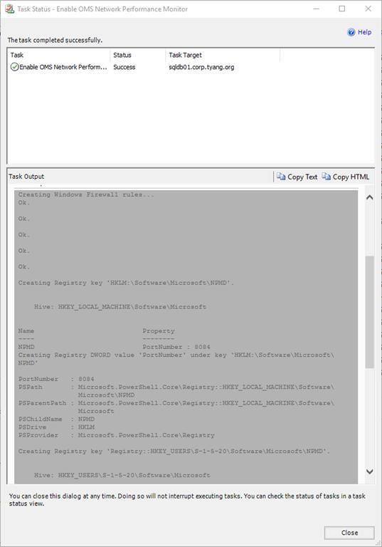 show registry key in use
