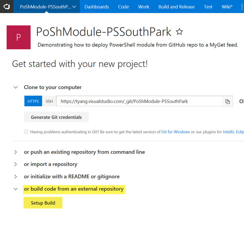 Deploying PowerShell Module from GitHub to a MyGet Feed