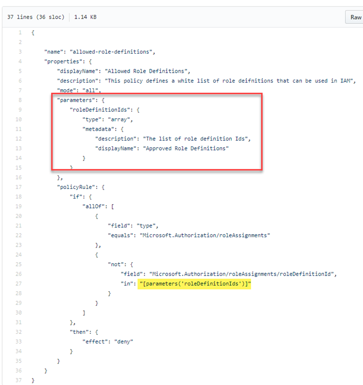 Using ARM Templates to Deploying Azure Policy Definitions That ...
